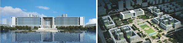 是即墨市行政中心东迁的第一步,是代表即墨市未来城市形象的地标性