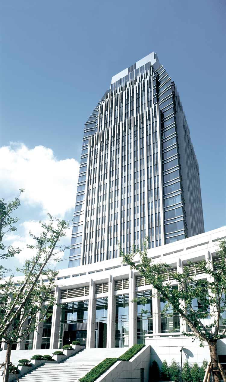 美容室布置_上海市公安局办公指挥大楼 - 项目 - 中国建筑中心官网