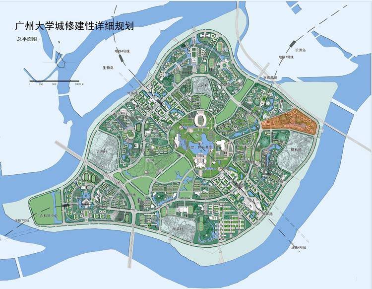 广州大学城广东药学院教学区
