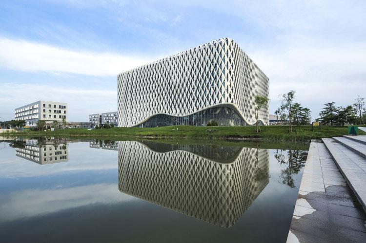 北京建筑大学新校区图书馆