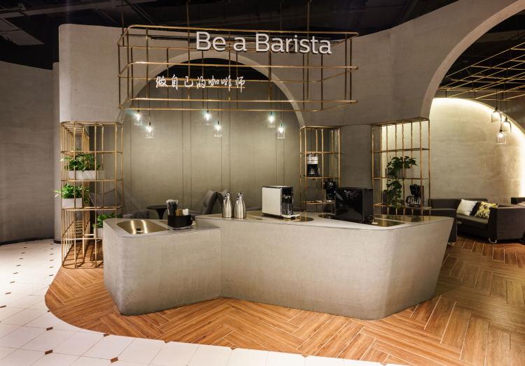 飞利浦智能咖啡馆(PH+ COFFEE) 意式咖啡氛围现代诠释