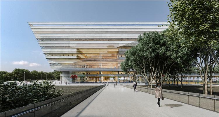 上海图书馆东馆方案设计出炉
