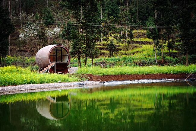 景观,规划所需地方特色材料:    草砖,秸秆砖,再生砖;竹,竹钢,木&