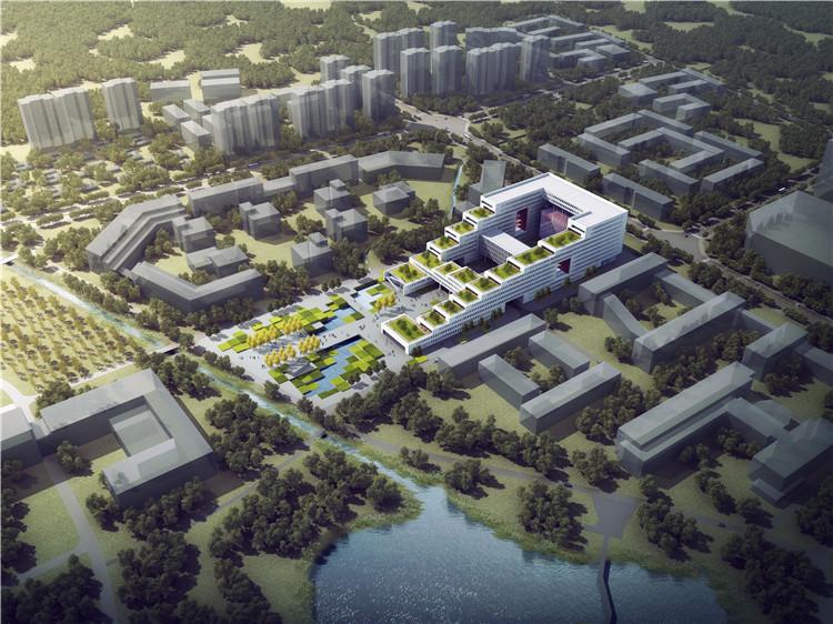 首层架空层建筑面积_科研的进阶式—电子科大科研实验楼设计 - 项目 - 中国建筑中心官网